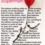 Superman poem by WVPoetrygirl