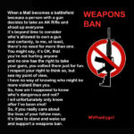 Poem- Assault Weapons Ban