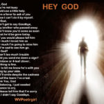 Poem - Hey God