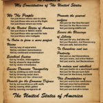 An Updated Preamble to the United States Constitution