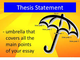 Refining Your Thesis Statement   Noahwriting