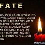 """Fate"" - a poem by #wvpoetrygirl"