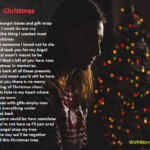 """This Christmas"" - a poem by #WVPoetrygirl"