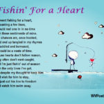 """Fishin' For A Heart"" - a poem by #WVPoetrygirl"