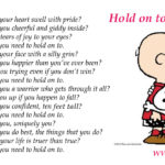 Poem by #WVPoetrygirl - What You Need to Hold On to