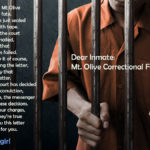 Dear Inmate - A poem by #WVPoetrygirl