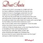 """Dear Santa"" a #poem by #WVPoetrygirl"